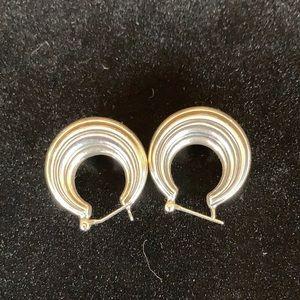 James Avery sterling silver earrings